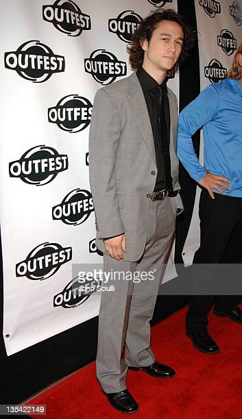 Joseph Gordon-Levitt during Outfest 2005 - Opening Night Gala at Orpheum Theatre in Los Angeles, California, United States.