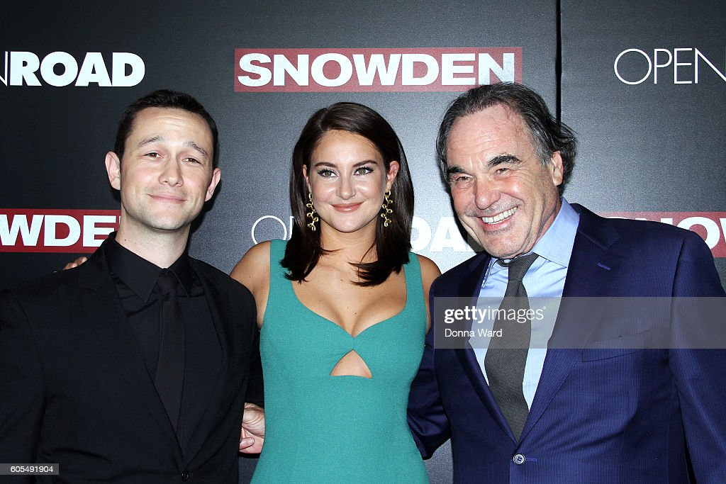 """Snowden"" New York Premiere : News Photo"