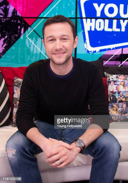 Joseph GordonLevitt visits the Young Hollywood Studio on March 21 2019 in Los Angeles California