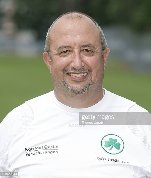 Joseph Gran poses during the 2nd Bundesliga Team Presentation of SpVgg Greuther Fuerth on July 11 2008 in Fuerth Germany