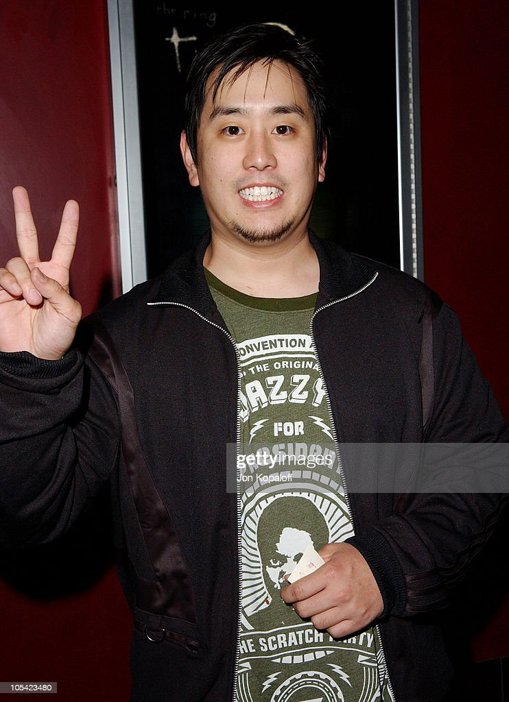 Joseph Hahn of Linkin Park during 'The Ring Two' Special Los Angeles Screening at ArcLight Theater in Hollywood, California, United States.