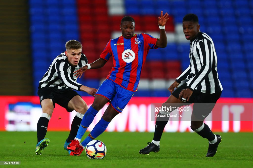 Crystal Palace v Newcastle United - FA Youth Cup Fourth Round