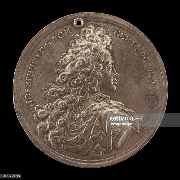 Joseph I, 1678-1711, Holy Roman Emperor 1705 [obverse], 1705. Possibly by Johann Georg Seidlitz. Artist Johann Georg Seidlitz.