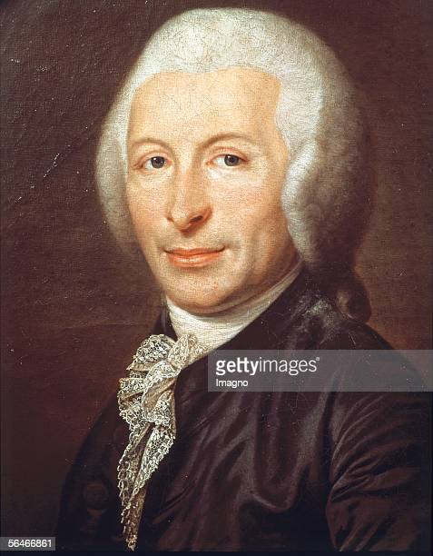 Joseph Ignace Guillotin Doctor and Inventor of the Guillotine Painting Musee Carnavalet Paris [Joseph Ignace Guillotin Arzt und Erfinder der...
