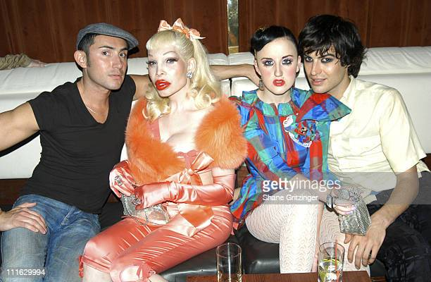 Joseph Israel Amanda Lepore Aimee Phillips and Lily Of The Valley