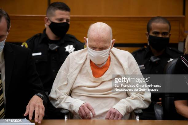 Joseph James DeAngelo during the third day of victim impact statements at the Gordon D. Schaber Sacramento County Courthouse on Thursday, Aug. 20 in...