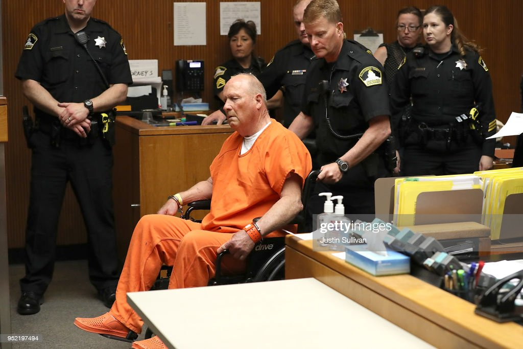 Arraignment Held For Alleged 'Golden State Killer' Joseph DeAngelo Jr : News Photo