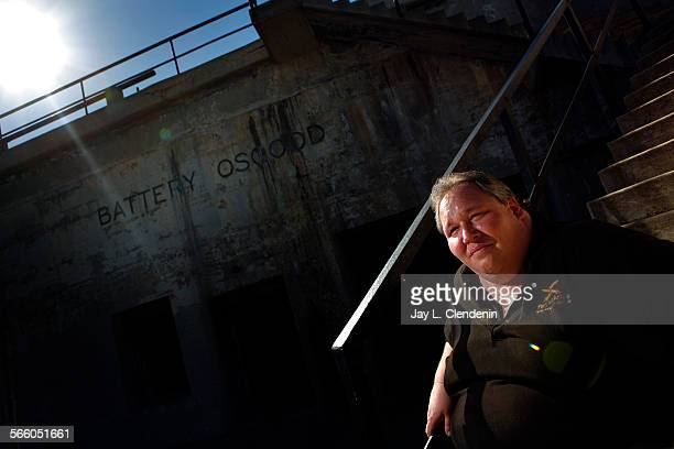SAN PEDRO CA NOVEMBER 8 2008 Joseph Janesic vicepresident and member of the board of directors of the Fort MacArthur Museum Association is...
