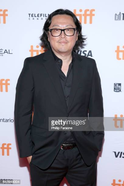 Joseph Kahn attends the 'Bodied' premiere during the 2017 Toronto International Film Festival at Ryerson Theatre on September 7 2017 in Toronto Canada