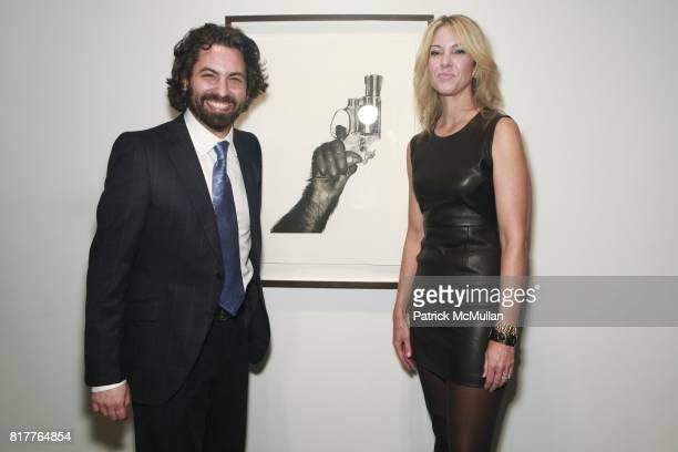 Joseph Kraeutler and Sarah Hasted attend ALBERT WATSON Artist Reception at Hasted Kraeutler Gallery on October 21 2010 in New York City