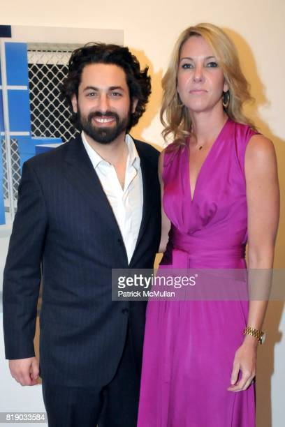 Joseph Kraeutler and Sarah Hasted attend JULIAN FAULHABER's Artist Reception at Hasted Hunt Kraeutler Gallery on May 6th 2010 in New York City