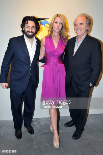 Joseph Kraeutler Sarah Hasted and Bill Hunt attend JULIAN FAULHABER's Artist Reception at Hasted Hunt Kraeutler Gallery on May 6th 2010 in New York...