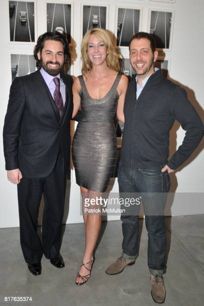 Joseph Kraeutler Sarah Hasted and Nathan Harger attend Artist's Reception with NATHAN HARGER at Hasted Kraeutler on December 9th 2010 in New York City
