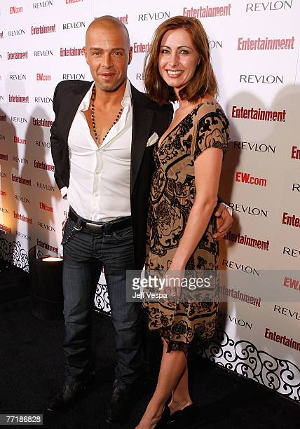 Joseph Lawrence and Chandie YawnNelson arrive at Entertainment Weekly's 5th Annual Emmy Celebration at Opera/Crimson on September 15 2007 in Los...