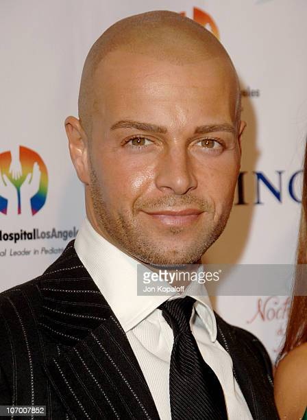 Joseph Lawrence during Childrens Hospital Los Angeles 2nd Noche de Ninos Gala Honoring Johnny Depp Arrivals at Beverly Hilton Hotel in Beverly Hills...