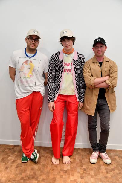 FRA: Lazoschmidl Presentation- Paris Fashion Week - Menswear Spring/Summer 2022