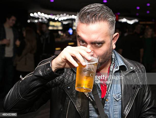Joseph Llanes attends The 25th Annual KROQ Almost Acoustic Christmas Day 1 at The Forum on December 13 2014 in Inglewood California