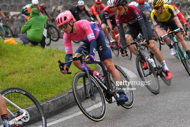 Joseph Lloyd Dombrowski of The United States and Team EF Education First / during the 102nd Giro d'Italia 2019, Stage 18 a 222km stage from Valdaora...