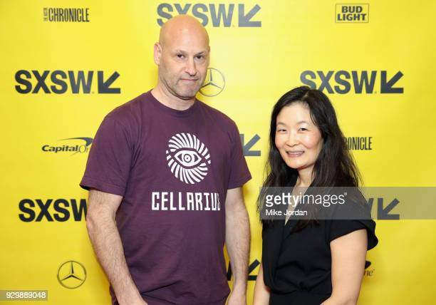 Joseph Lubin and Laura Shin attend Why Etherium is Going to Change the World during SXSW at Austin Convention Center on March 9 2018 in Austin Texas