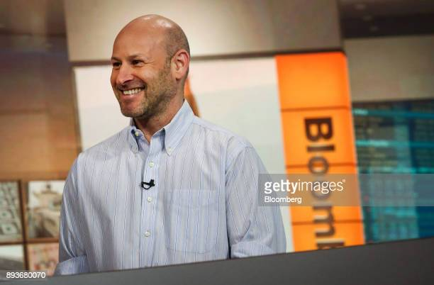 Joseph Lubin cofounder of Ethereum smiles during a Bloomberg Television interview in New York US on Friday Dec 15 2017 Many digital currencies have...