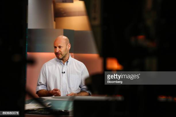 Joseph Lubin cofounder of Ethereum speaks during a Bloomberg Television interview in New York US on Friday Dec 15 2017 Many digital currencies have...