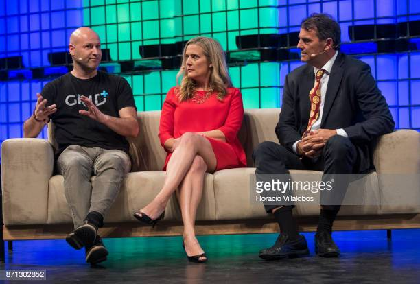 Joseph Lubin Founder of ConsenSys/CoFounder Ethereum Rebecca Lynn CoFounder Canvas Ventures and Tim Draper Founder Draper Associates/DFJ discuss on...