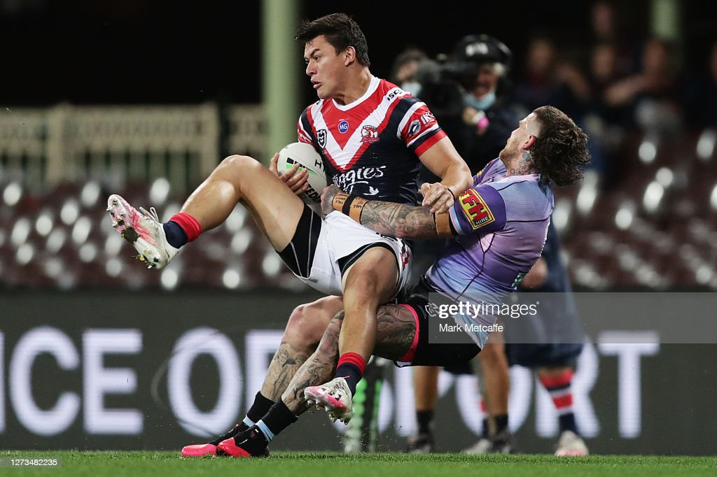 NRL Rd 19 - Roosters v Sharks : News Photo
