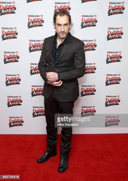 Joseph Mawle attends the Rakuten TV EMPIRE Awards 2018 at The Roundhouse on March 18 2018 in London England