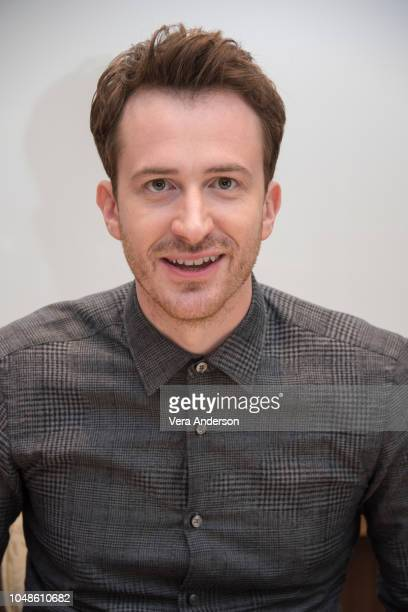 Joseph Mazzello at the Bohemian Rhapsody Press Conference at the Four Seasons Hotel on October 8 2018 in Beverly Hills California