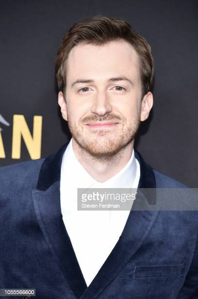 Joseph Mazzello attends Bohemian Rhapsody New York Premiere at The Paris Theatre on October 30 2018 in New York City