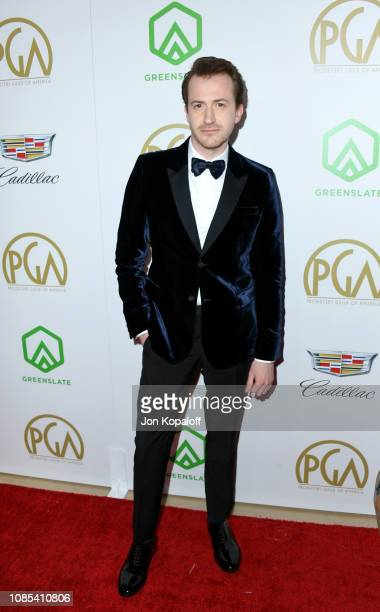 Joseph Mazzello attends the 30th annual Producers Guild Awards at The Beverly Hilton Hotel on January 19 2019 in Beverly Hills California