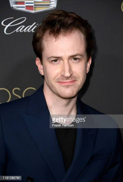 Joseph Mazzello attends the Cadillac celebrates The 91st Annual Academy Awards at Chateau Marmont on February 21 2019 in Los Angeles California