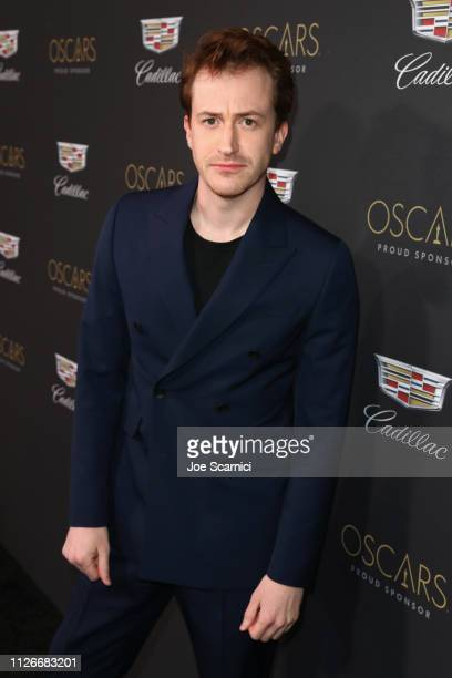 Joseph Mazzello attends the Cadillac Oscar Week Celebration at Chateau Marmont on February 21 2019 in Los Angeles California