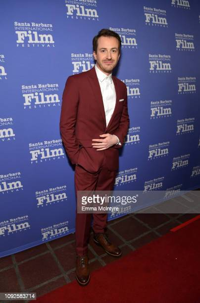 Joseph Mazzello attends the Outstanding Performer Award Honoring Rami Malek during 34th Santa Barbara International Film Festival at Arlington...