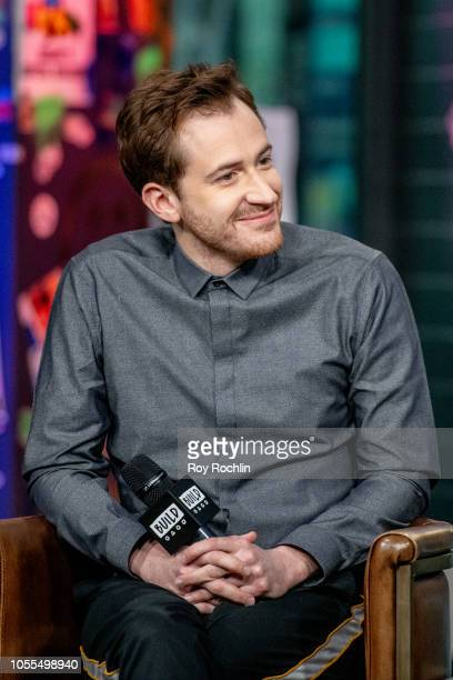 Joseph Mazzello discusses Bohemian Rhapsody with the Buld Series at Build Studio on October 30 2018 in New York City