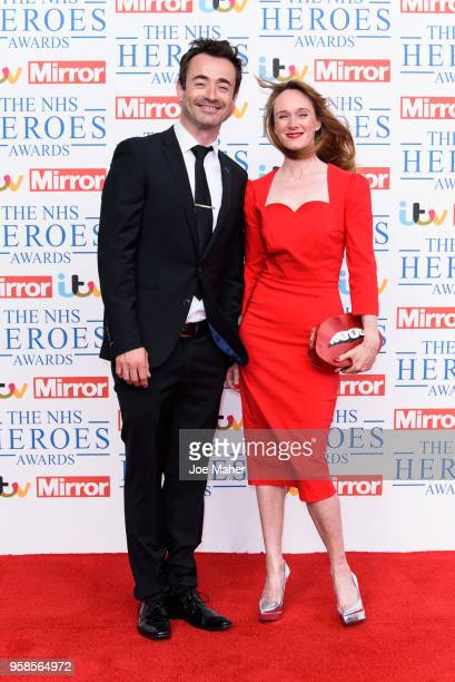 Joseph McFadden attends the 'NHS Heroes Awards' held at the Hilton Park Lane on May 14 2018 in London England