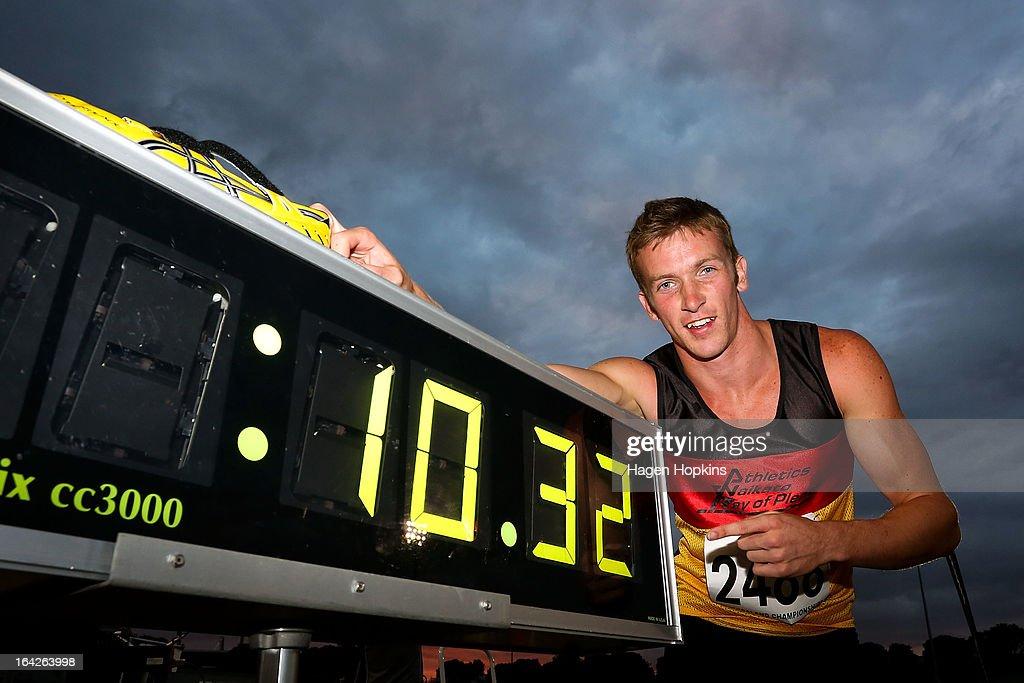 New Zealand Track And Field Championships : Foto jornalística