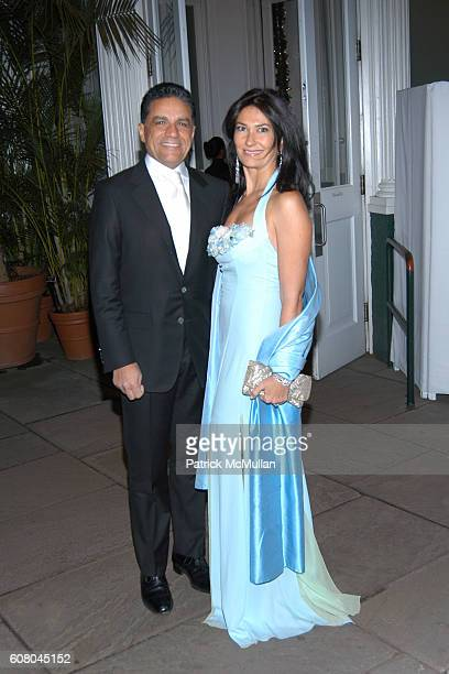 Joseph Moinian and Nazee Moinia attend The WINTER WONDERLAND BALL at The New York Botanical Garden on December 8 2006 in New York City