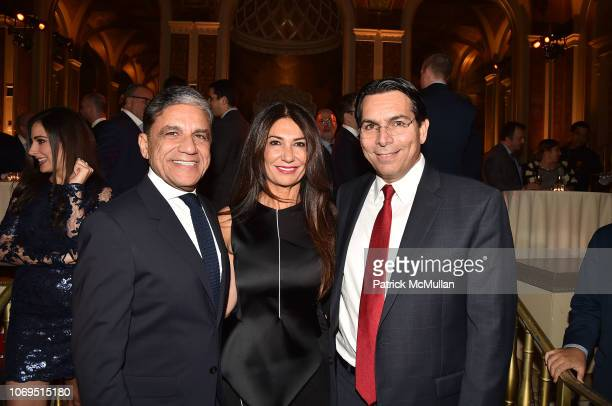 Joseph Moinian Nazee Moinian and Amb Dani Dannon attend American Friends Of Rabin Medical Center 2018 Annual NYC Gala at The Plaza on November 19...