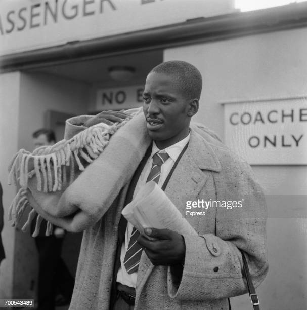 Joseph Moloi from South Africa who has signed with Cardiff City FC in Wales UK 15th November 1960
