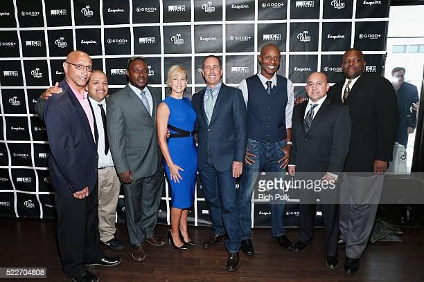 Joseph Murphy, Deny Merino, Terry Hayward, GOOD+ Foundation founder Jessica Seinfeld, host Jerry Seinfeld, Doyn Richards, Thomas Enrique and Project...