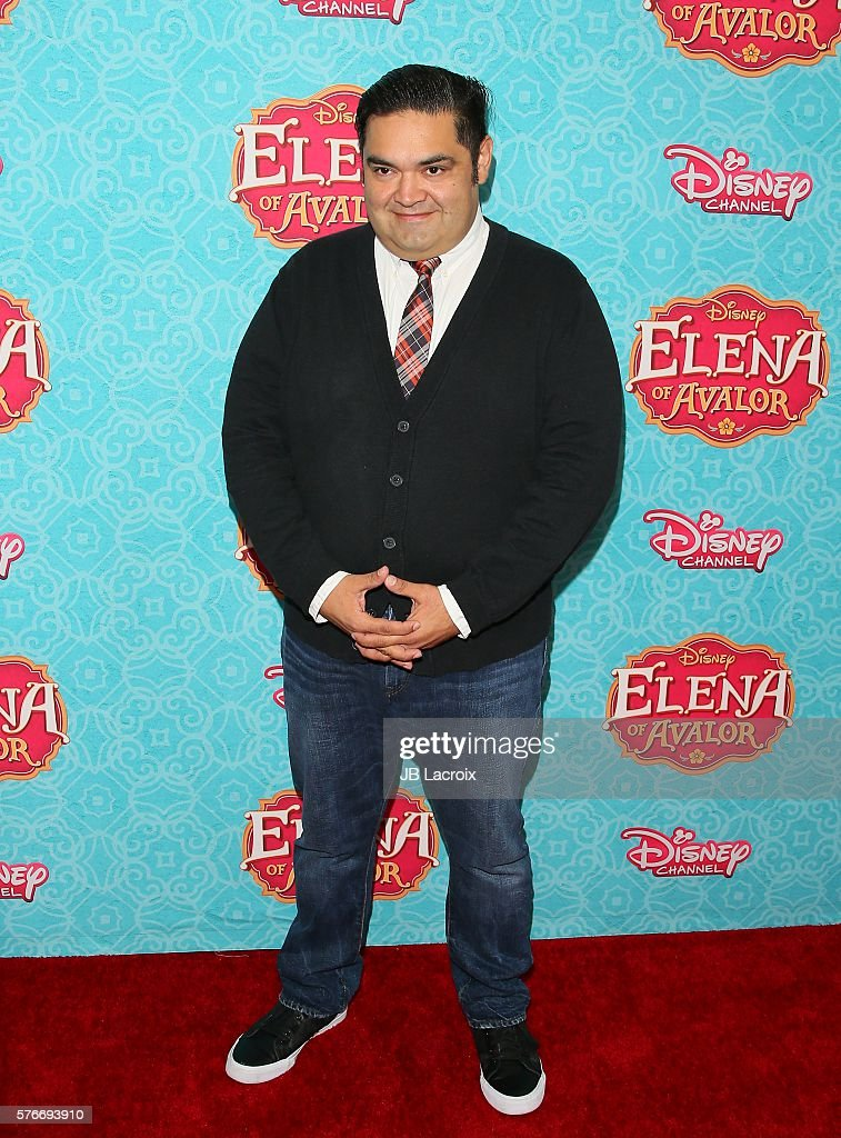 Joseph Nunez attends the screening of Disney Channel's 'Elena of Avalor' on July 16, 2016 in Beverly Hills, California.