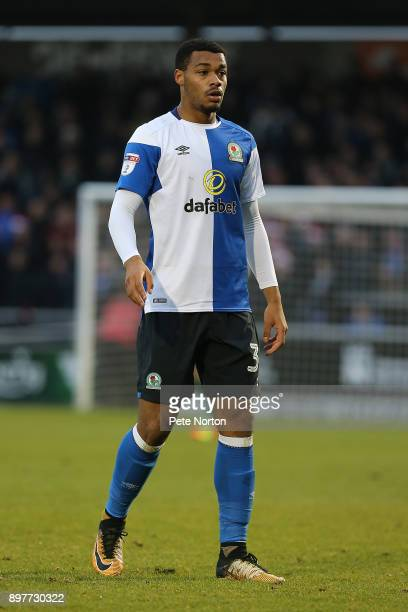 Joseph Nuttall of Blackburn Rovers in action during the Sky Bet League One match between Northampton Town and Blackburn Rovers at Sixfields on...