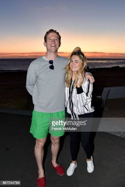 Joseph O Tobin III and Amanda Hearst attend Hearst Castle Preservation Foundation Associate Trustees' Tour at Hearst Castle on September 28 2017 in...