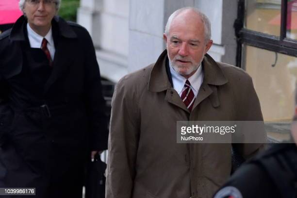 Joseph P Green Jr Bill Cosby's new attorney arrives for a second day of a sentencing hearing at the Montgomery County Courthouse September 25 2018 in...