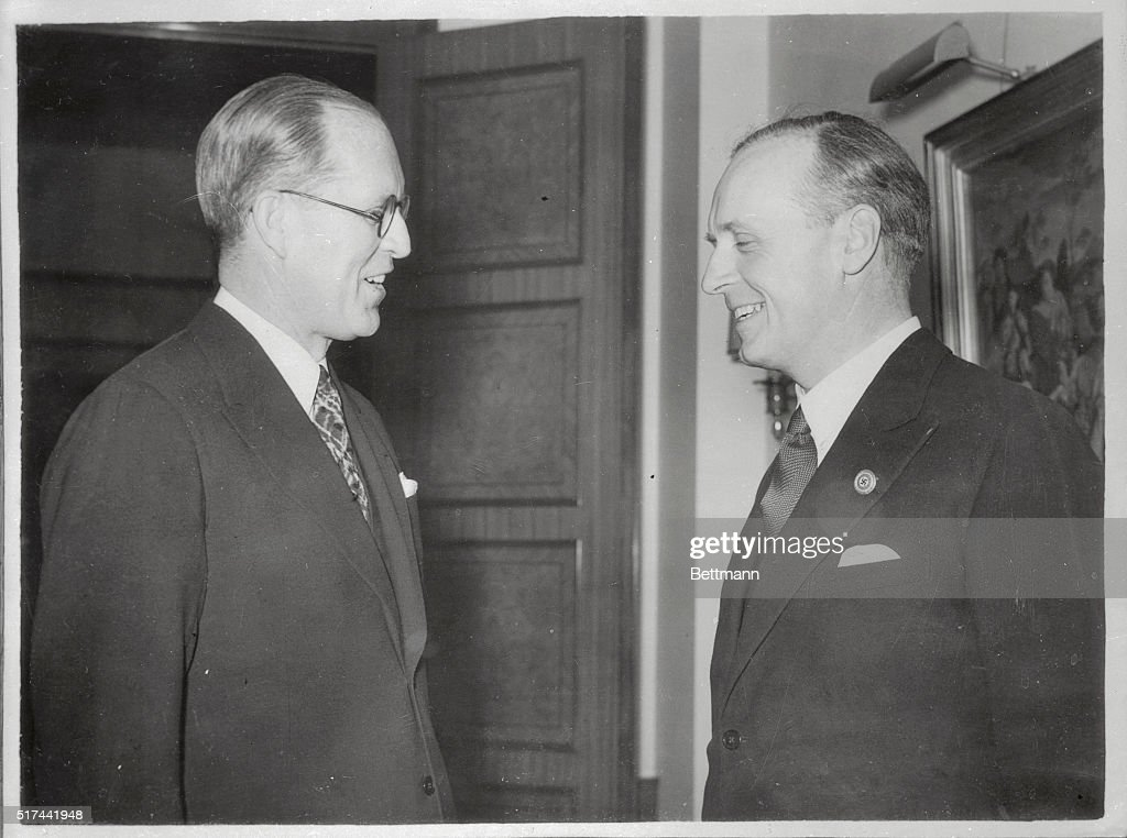 Image result for Joe Kennedy (l) with Hitler's Foreign Minister, Joachim von Ribbentrop