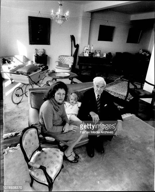 Joseph Palmer with his daughter Pamela and grand daughter Josephine Joseph Palmer paid a great deal more than 4000 when he moved into the Astor with...