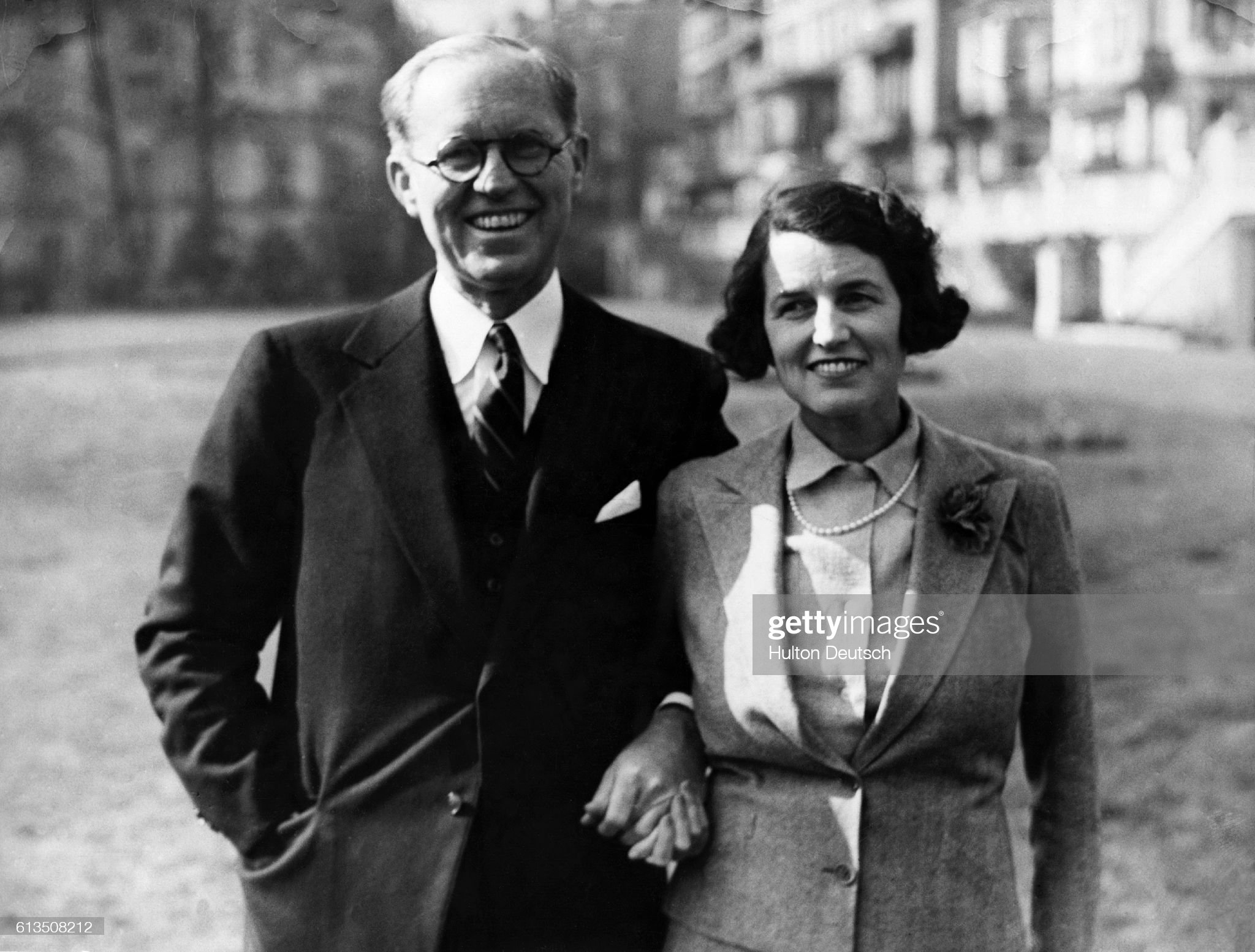 Joseph and Rose Kennedy : News Photo