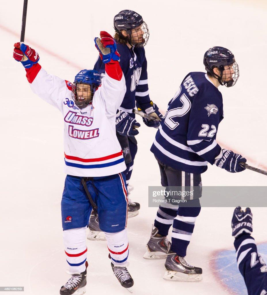 2014 Hockey East Championship - Final : News Photo