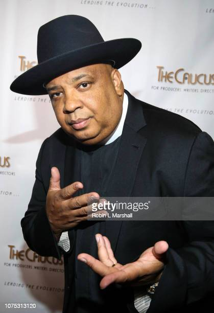 Joseph Rev Run of RUN DMC attends The Caucus for Producers Writers Directors 36th Annual Caucus Awards Dinner at Skirball Cultural Center on November...